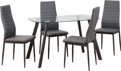 Verity Dining Set Grey